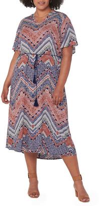 Only African 2/4 Calf Dress