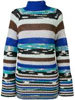Missoni striped knitted jumper