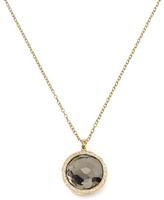 Ippolita Diamond & Pyrite Lollipop Pendant Necklace