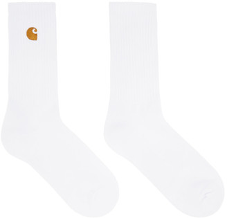 Carhartt Work In Progress White Chase Socks