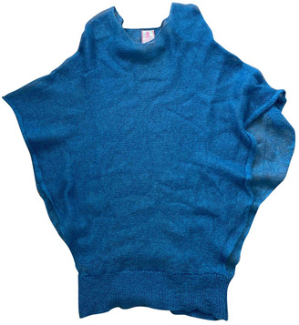 Lala Berlin Blue Wool Knitwear