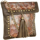 Leather Rock HE49-F601 (Olive) - Bags and Luggage