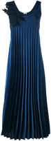 P.A.R.O.S.H. long pleated dress - women - Polyester - M