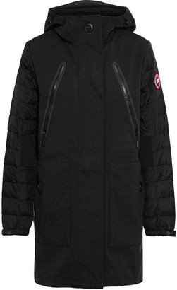 Canada Goose Sabine Quilted Shell Down Hooded Coat
