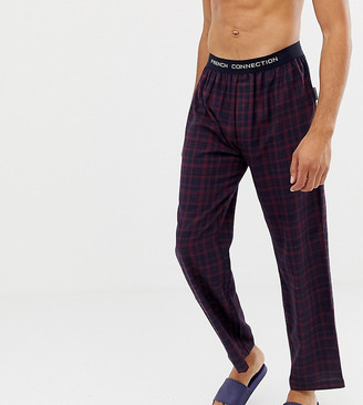 French Connection TALL Flannel Check Lounge Pants