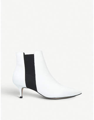 Aldo Jerirewia pointed-toe leather ankle boots
