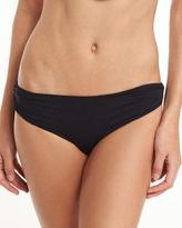 Marysia Swim Venice Twisted-Side Swim Bottom, Black