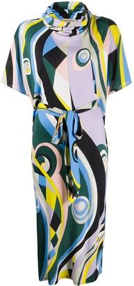 Emilio Pucci Occhi print shift dress