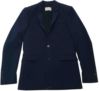 Sandro Blue Wool Suits