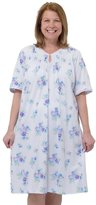 Silverts Disabled Elderly Needs Womens Adaptive Hospital Gowns - Open Back Nightgown For Women - 3XL