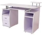 Gaul Computer Desk Ebern Designs Color: White