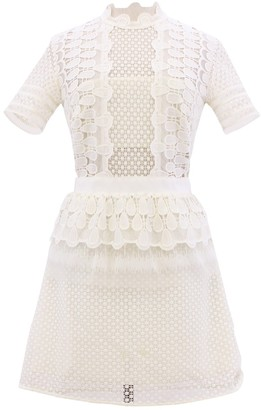 Self-Portrait White Synthetic Dresses
