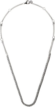 Alinka 18kt white gold RIVIERA diamond necklace