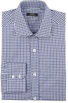 Fairfax Men's Checked Cotton Twill Dress Shirt