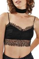 Topshop Women's Eyelash Lace Bralette