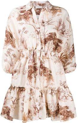 Sandro Paris Jolane shirt dress