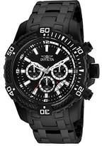 Invicta Men's Pro Diver Steel Bracelet & Case Quartz Analog Watch 24858