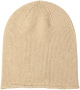 Thumbnail for your product : Johnstons of Elgin Natural Roll Trim Cashmere Hat