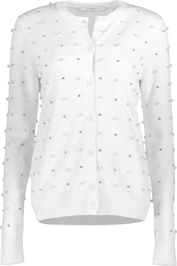 Givenchy Pearl Cardigan