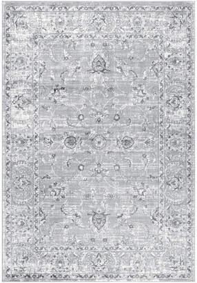 "Jonathan Y Designs Modern Persian Vintage Rug, Light Gray, 5'3""x7'6"""