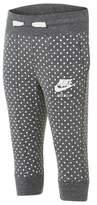 Nike Girl's Gym Vintage Polka Dot Track Pants