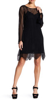 Yoana Baraschi Rave Wave Lace Mini Dress