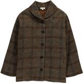 soeur Checked Tweed Anoushka Coat
