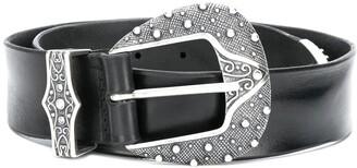 Orciani embellished Western buckle belt
