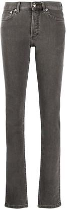 A.P.C. Low-Rise Straight Leg Jeans