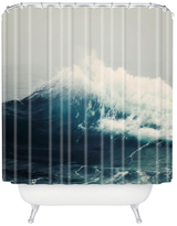 DENY Designs Sea Wave Shower Curtain