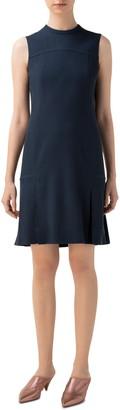 Akris Punto Sleeveless Virgin Wool Shift Dress