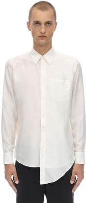 Givenchy Asymmetrical Silk Shirt