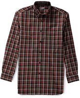 Daniel Cremieux Signature Big & Tall Long-Sleeve Check Sportshirt