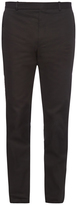 Balenciaga Stretch-cotton biker trousers