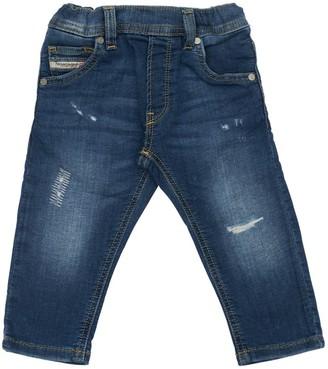 Diesel Denim Effect Cotton Pants