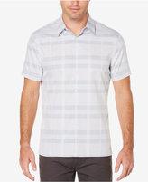 Perry Ellis Men's Big & Tall Colorblocked Shirt