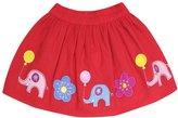 Jo-Jo JoJo Maman Bebe Elephant Skirt (Baby)-Red-18-24 Months