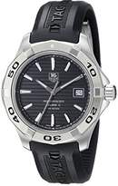 Tag Heuer Men's WAP2010.FT6027 Stainless Steel Analog with Stainless Steel Bezel Watch