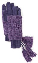 C.C. BEANIES Tasseled Marled Tech Gloves