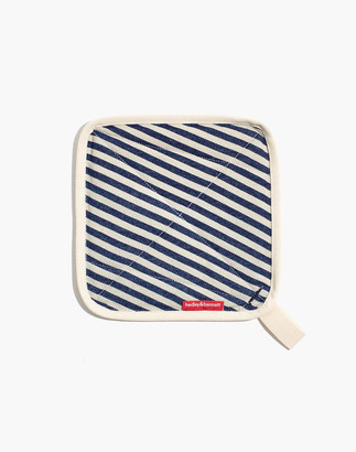 Madewell x Hedley & Bennett Striped Pot Holder