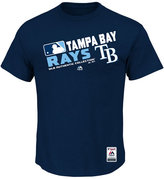 Majestic Men's Tampa Bay Rays Authentic Collection Choice T-Shirt