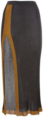 Missoni Viscose Blend Long Skirt W/ Side Slit