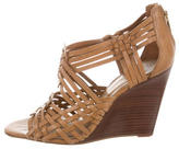 Tory Burch Leather Multistrap Wedges
