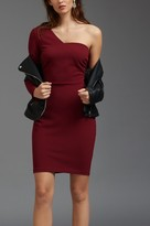 Dynamite One Shoulder Bodycon Dress with Cutout