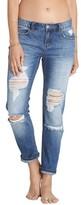 Billabong Women's Hey Boy Ripped Girlfriend Jeans
