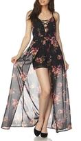 Minx Rose Romper Dress