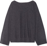 The Row Minola Cashmere Sweater - Dark gray