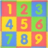 Tadpoles 21-pc. Numbers Foam Playmat