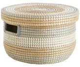 Pier 1 Imports Isla Natural Seagrass Lidded Basket