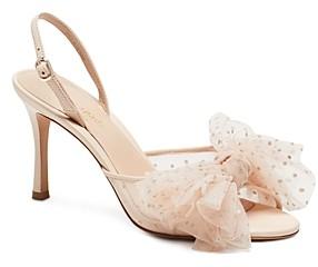 Kate Spade Women's Bridal Sparkle Slingback Sandals